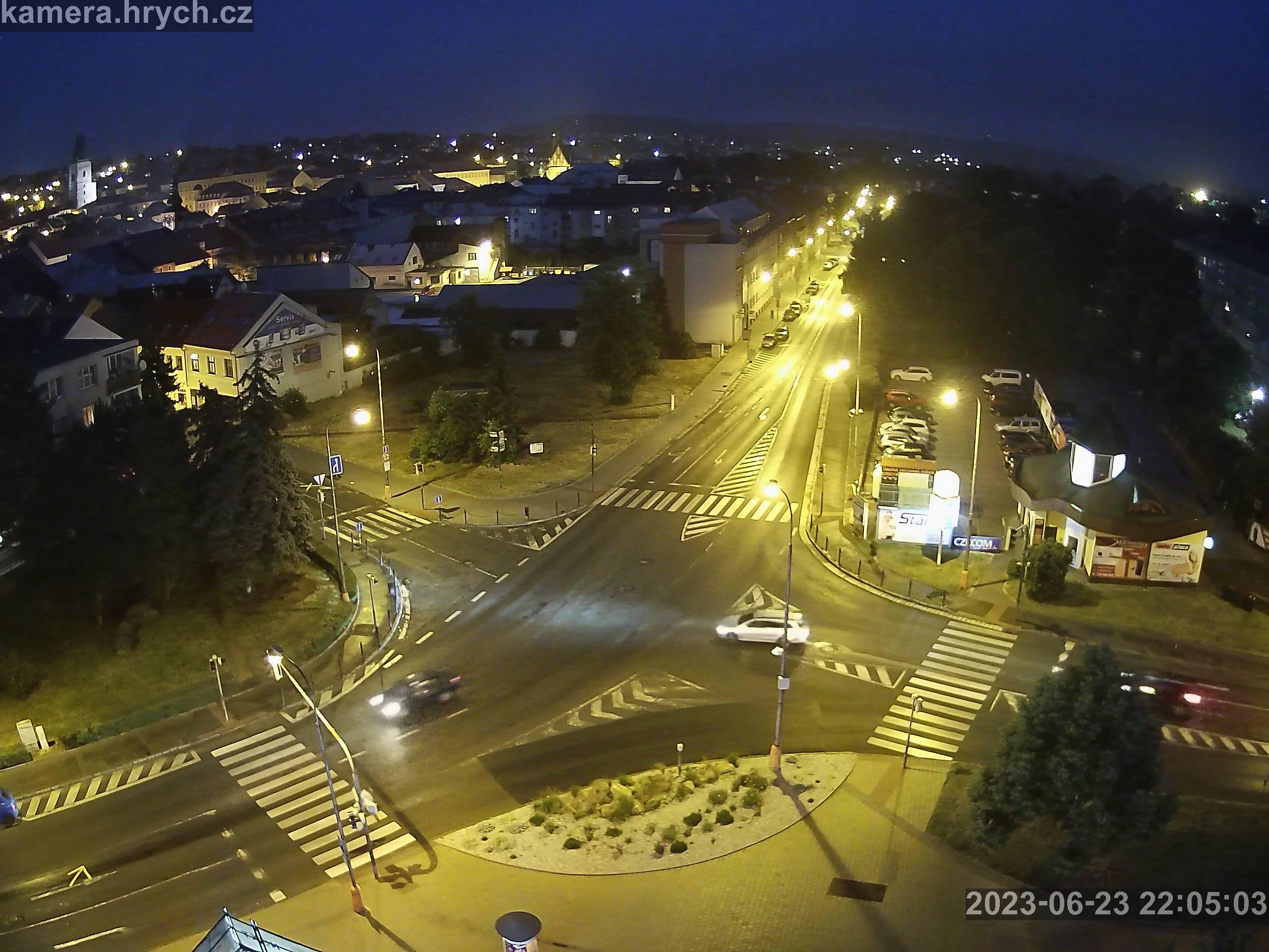 Webkamera RakovnĂk - ulice ÄŚs.LegiĂ
